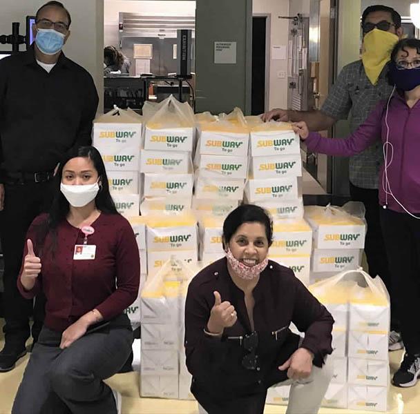 UMA CoVid 19 relief efforts